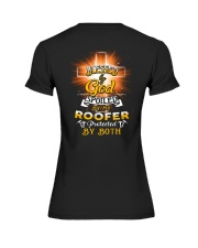 Roofer Roofers Roof Roofing Job Shirt Premium Fit Ladies Tee thumbnail