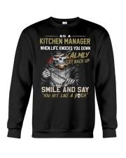 Kitchen Manager Crewneck Sweatshirt thumbnail