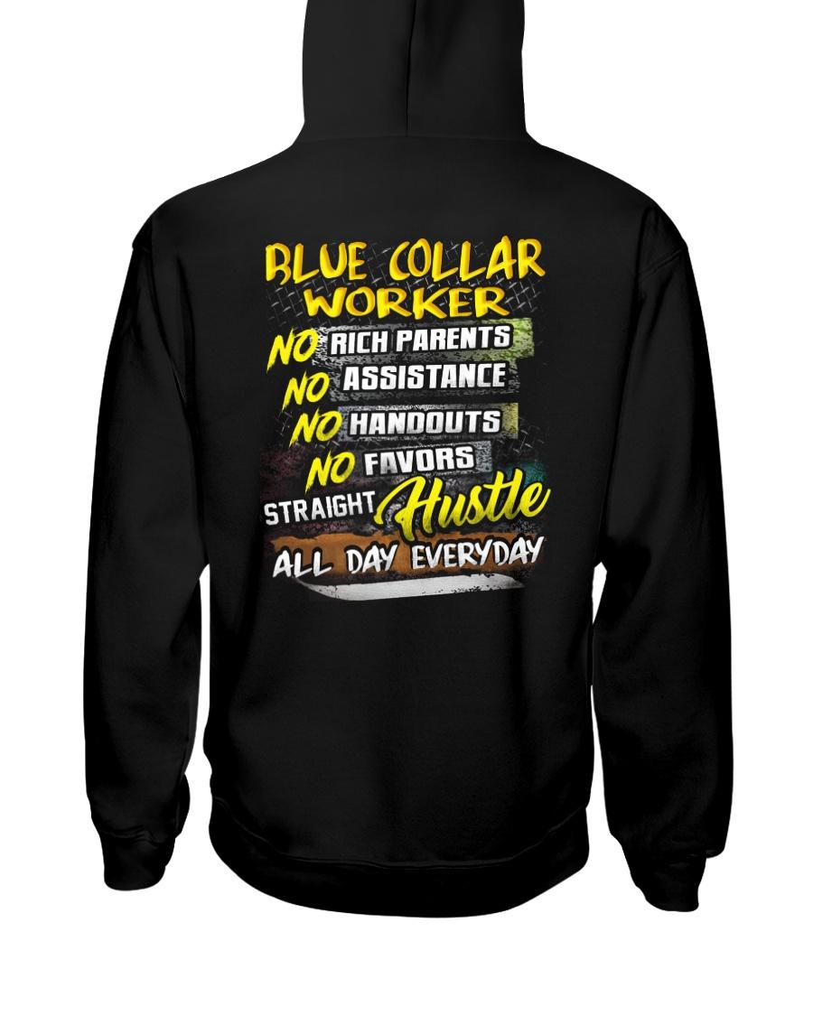 Blue Collar Worker29 Hooded Sweatshirt