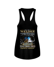 Welder Ladies Flowy Tank thumbnail
