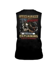 Office Manager Sleeveless Tee thumbnail