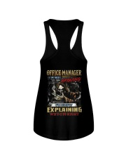 Office Manager Ladies Flowy Tank thumbnail