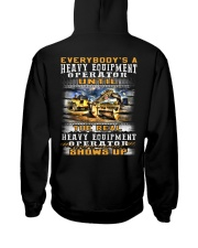 Heavy Equipment Operator Hooded Sweatshirt back