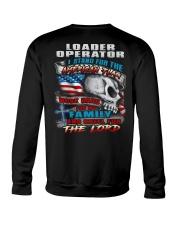 Loader Operator Crewneck Sweatshirt thumbnail