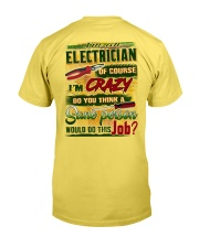 Electrician Premium Fit Mens Tee tile