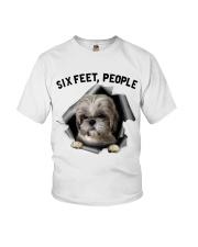 Shih Tzu 6 Feet People Shirt Youth T-Shirt tile