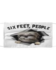 Shih Tzu 6 Feet People Shirt Mask tile