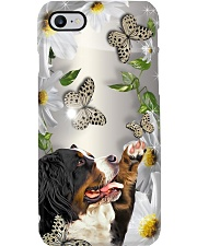 Bernese Mountain Flower Phone Case Phone Case i-phone-7-case