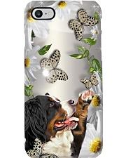 Bernese Mountain Flower Phone Case Phone Case i-phone-8-case