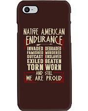 NATIVE AMERICAN ENDURANCE Phone Case thumbnail