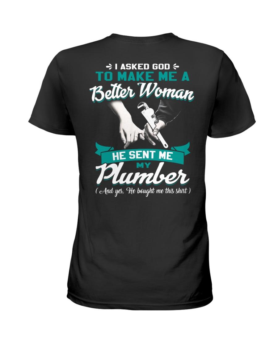 Plumber Ladies T-Shirt