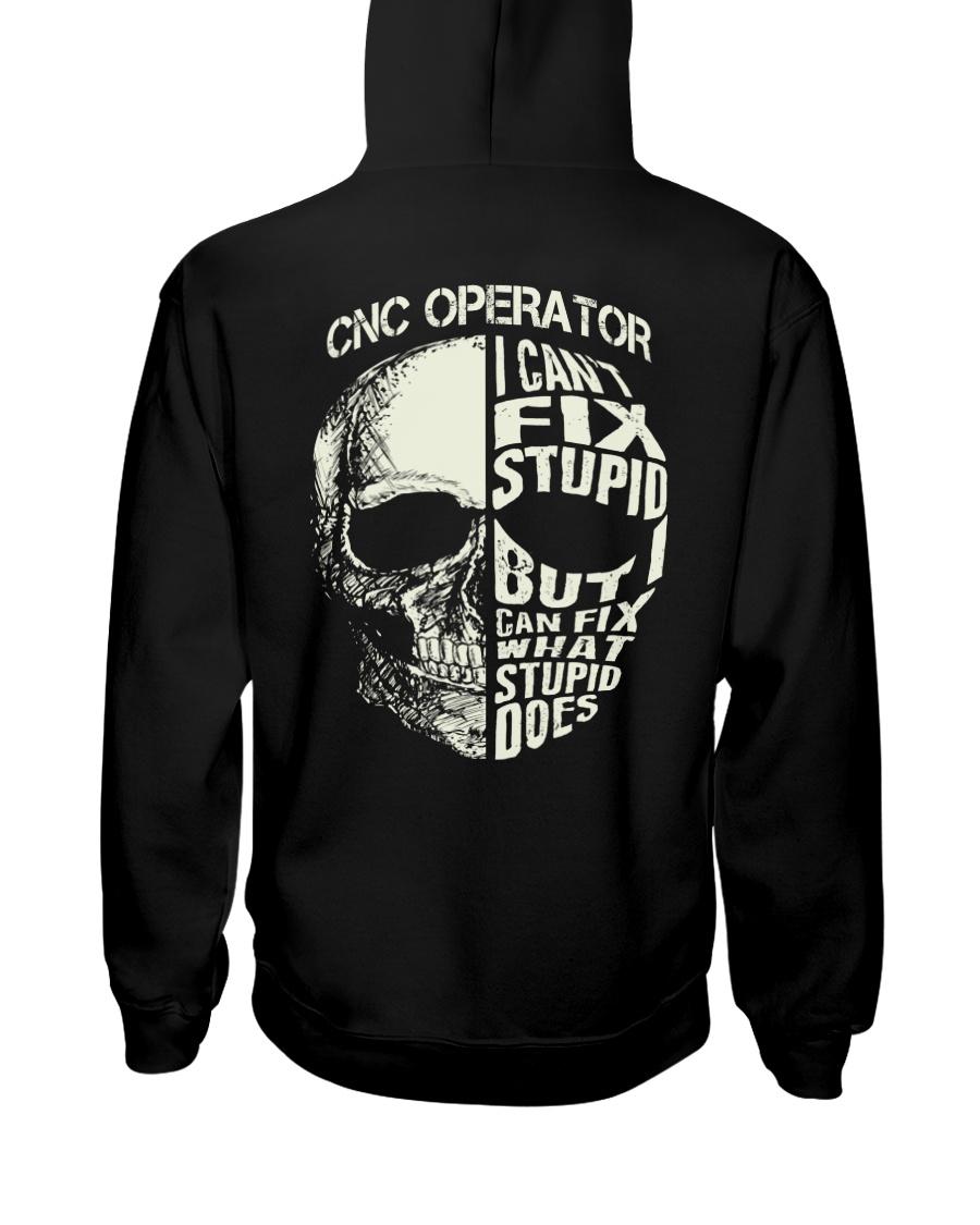 Cnc Operator Hooded Sweatshirt
