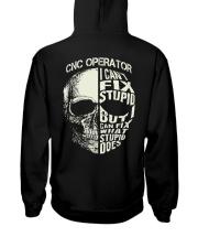 Cnc Operator Hooded Sweatshirt back