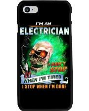 Electrician Phone Case tile
