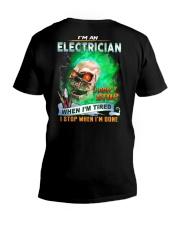 Electrician V-Neck T-Shirt thumbnail