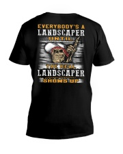 Landscaper V-Neck T-Shirt thumbnail