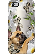 Frenchie Flower Phone Case Phone Case i-phone-7-case