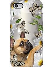 Frenchie Flower Phone Case Phone Case i-phone-8-case