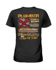 Plumber Ladies T-Shirt thumbnail