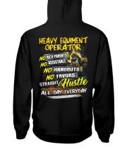 Heavy Equipment Operator Hooded Sweatshirt back