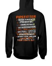 Pipefitter Hooded Sweatshirt back