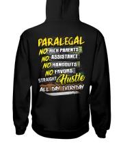 Paralegal Hooded Sweatshirt back