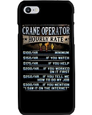 Crane Operator Phone Case tile
