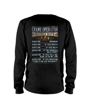 Crane Operator Long Sleeve Tee tile