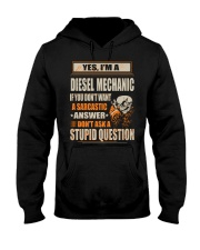 Diesel Mechanic Exclusive Shirt Hooded Sweatshirt thumbnail