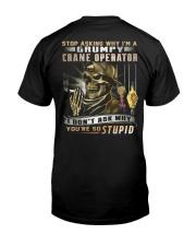 Crane Operator Classic T-Shirt thumbnail