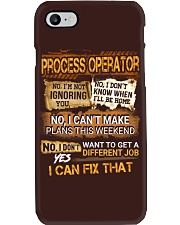 Process Operator Phone Case thumbnail