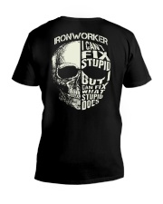 Ironworker V-Neck T-Shirt thumbnail