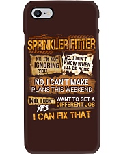 Sprinkler Fitter Phone Case thumbnail