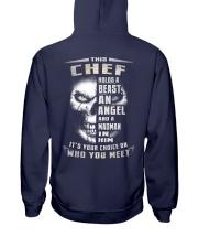 Chef Hooded Sweatshirt back