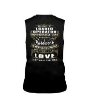 Loader Operator Exclusive Shirt Sleeveless Tee thumbnail