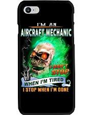 Aircraft Mechanic Phone Case thumbnail