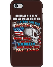 Quality Manager Phone Case thumbnail