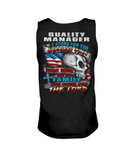 Quality Manager Unisex Tank thumbnail