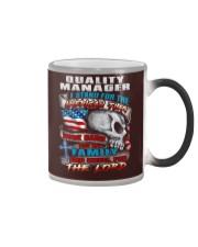 Quality Manager Color Changing Mug thumbnail