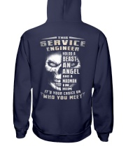 Service Engineer Hooded Sweatshirt back