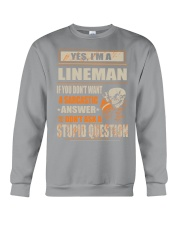 Lineman Exclusive Shirt Crewneck Sweatshirt thumbnail