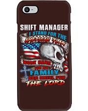 Shift Manager Phone Case thumbnail