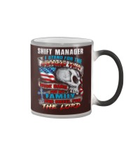 Shift Manager Color Changing Mug thumbnail