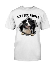 Border Collie 6 Feet People Limited Edition Classic T-Shirt thumbnail