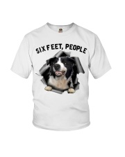 Border Collie 6 Feet People Limited Edition Youth T-Shirt thumbnail