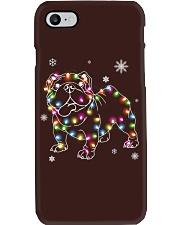 BullDog Dog Christmas Shirt Phone Case tile