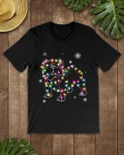 BullDog Dog Christmas Shirt Classic T-Shirt lifestyle-mens-crewneck-front-18