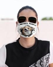 Corgi - 2 Metres People Cloth face mask aos-face-mask-lifestyle-02