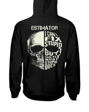 Estimator Exclusive Shirt Hooded Sweatshirt back