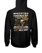 Chemical Engineer Hooded Sweatshirt back